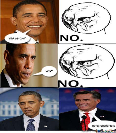 obama vs romney by master oignon meme center
