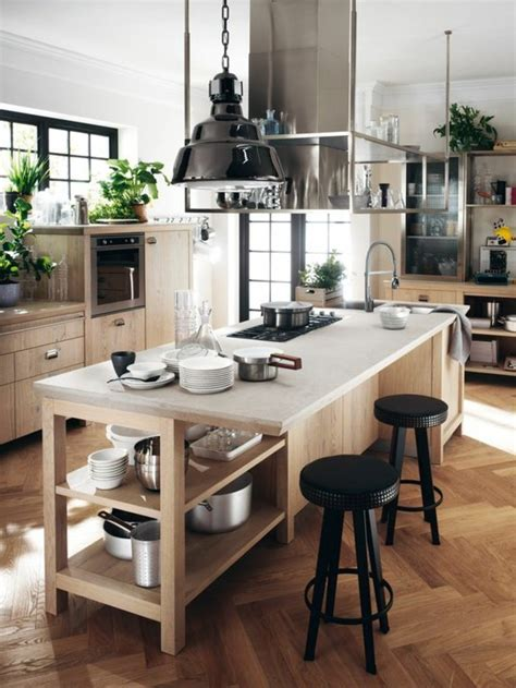 id馥 cuisine avec ilot central hauteur ilot central cuisine maison design bahbe com