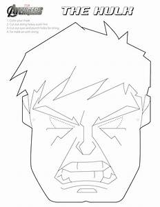 avengers mask template - face coloring printable halloween masks coloring pages