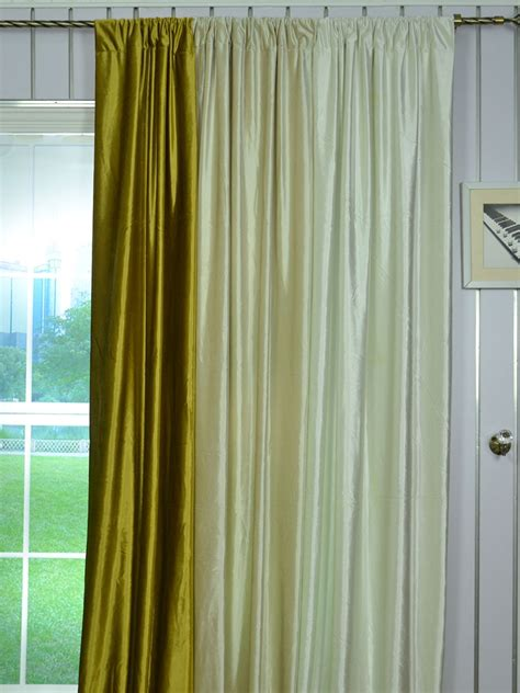 yellow blackout curtains 63 inch 96 inch beige and yellow solid blackout