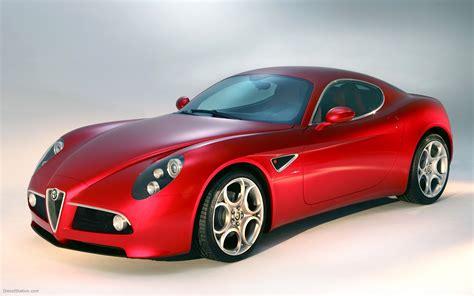 Alfa Romeo 8c Competizione Widescreen Exotic Car Wallpaper