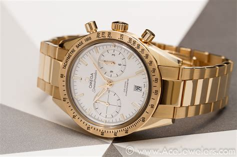 Omega Maroon picture omega speedmaster 1957 gold speedywatches