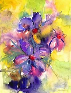 Abstract Watercolor Paintings Of Flowers Part 1 | WeNeedFun