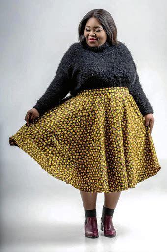 Thembsie Matu creates line of own clothing designs