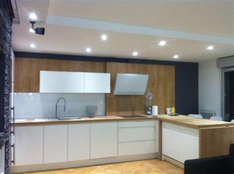 luminaire de chambre éclarage de la cuisine avec spot led de basse tention bois