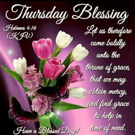 Morning blessings morning prayers good morning bible quotes god made you tuesday quotes christian prayers days and months blessed quotes tuesday morning. Religious Thursday Blessings Quote Pictures, Photos, and ...