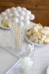 How To Make Your Own Party Lights How To Throw A Winter White Gingerbread Decorating Party