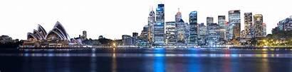 Night Skyline Transparent Sydney Cities Pngio Skylines