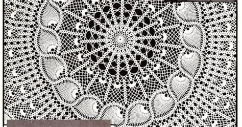 Pineapple Lei Tablecloth Crochet Pattern and More
