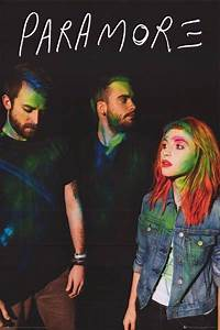 Paramore Album Cover Hayley Williams Group Music Poster ...