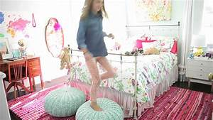 how to style a girls room youtube idolza With medium size room decoration for girls