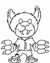 Werewolf Coloring Monster Pages Halloween Printable Doo Scooby Monsters Drawing Printables Mystery Machine Cartoon Funny Getcolorings Getcoloringpages Clipartmag Getdrawings Popular sketch template