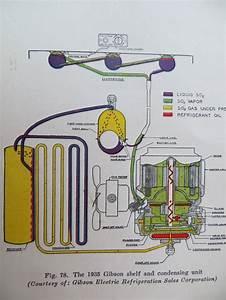 Scematic From 1930 U0026 39 S Refrigerator Repair Manual