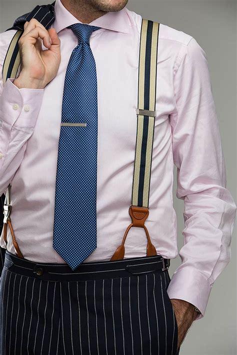 How To Wear Suspenders Mens Suspenders Guide He Spoke