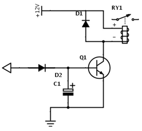 Time Delay Circuit For Relay Supreem Circuits Diagram