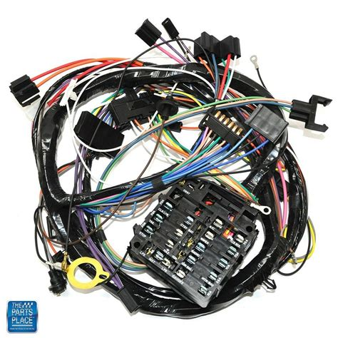 1971 Monte Carlo Wiring Harnes by 1970 Chevelle Monte Carlo Dash Harness Complete For