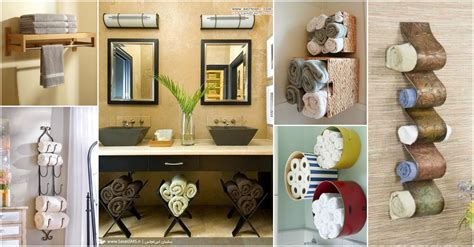 towel storage ideas for bathroom 15 fantastic bathroom towel storage ideas