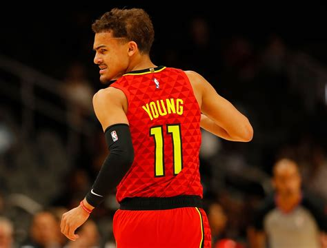 He will be listed as out for tomorrow's game vs. Trae Young Leads All East Guards In First Round Of NBA All-Star Voting