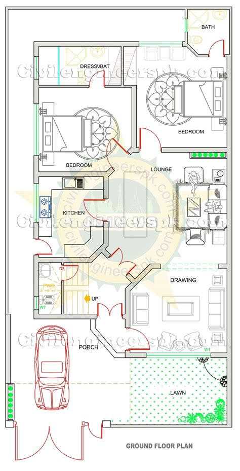 3 bedroom house plan the different house designs in pakistan lamudi