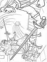 Barbie Three Coloring Musketeers Printable Recommended sketch template
