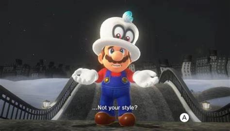super mario odyssey  style  substance ng