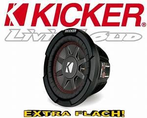 Subwoofer Auto Flach : kicker subwoofer flach cwrt671 43 2x 1ohm 16 5cm ~ Jslefanu.com Haus und Dekorationen