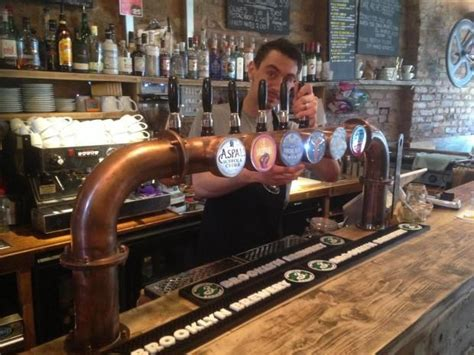 image result  copper  bar pump beer steampunk