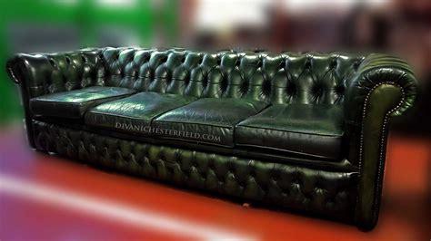 Divani Chesterfield Usati Pelli Vintage Originali Inglesi