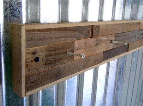 wooden pallets coat rack pallet furniture plans