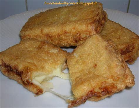 mozzarella in carrozza al forno senza uova pane e mozzarella in carrozza senza uova si puo fare in forno