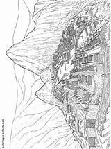 Merveilles Machu Picchu Coloriages Coloriage Monde Commerciaux Liens sketch template