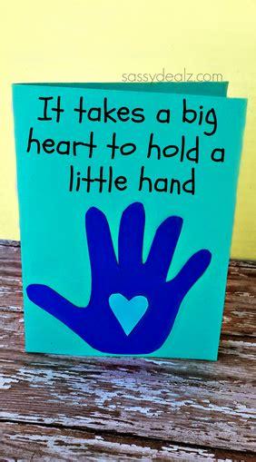 handprint fathersday card craft for children kidscraft 925 | 026fddade71c9d481dd5f8891602cebe