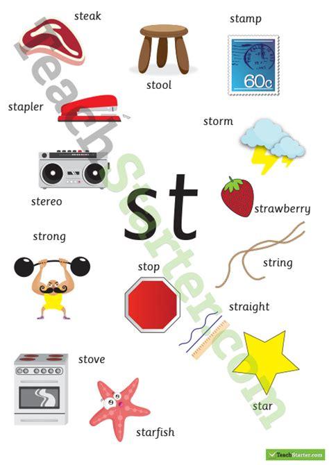 st blend poster teaching resource teach starter