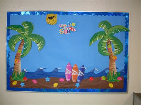 8 Best Images About Summer Fun Bulletin Board On Pinterest