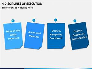 4 Disciplines Of Execution Powerpoint Template