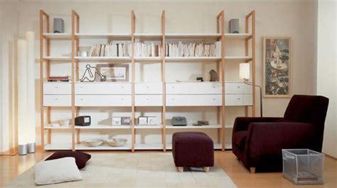 diseno bibliotecas fotos modelo madera minimalista