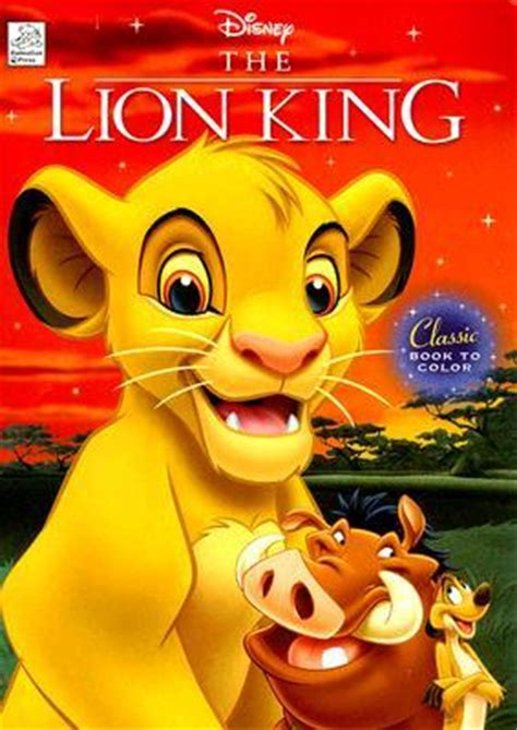 lion king classic book  color  dalmatian press