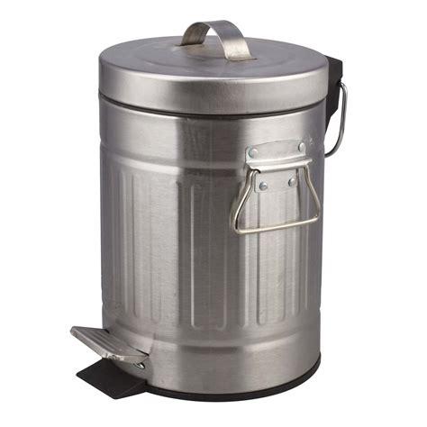 leroy merlin poubelle cuisine poubelle de salle de bains 3 l chromé sensea