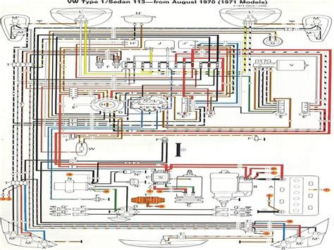 1973 super beetle wiring diagram thegoldenbug wiring forums