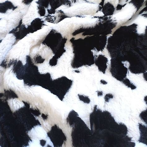 Faux Cowhide Fabric For Upholstery by Luxurious Minky Fabric Mink Faux Fur Cow Print Cowhide