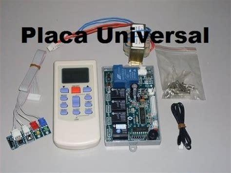como adaptar placa universal aire acondicionado split