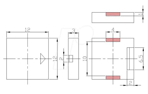 smd p12a03 piezo buzzer 75 db 3 0 v 4000 hz smd at reichelt elektronik