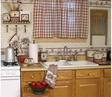 Country Style Kitchen Curtains by Country Style Curtain In Kitchen Gharexpert
