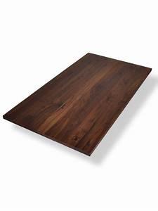 Tischplatte Massivholz Baumkante : tischplatte massivholz nussbaum neuesten design kollektionen f r die familien ~ Indierocktalk.com Haus und Dekorationen