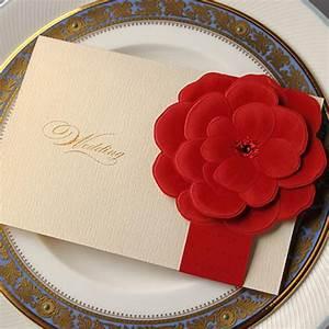 100pcs red rose flower laser cut wedding invitation card for 3d rose wedding invitations