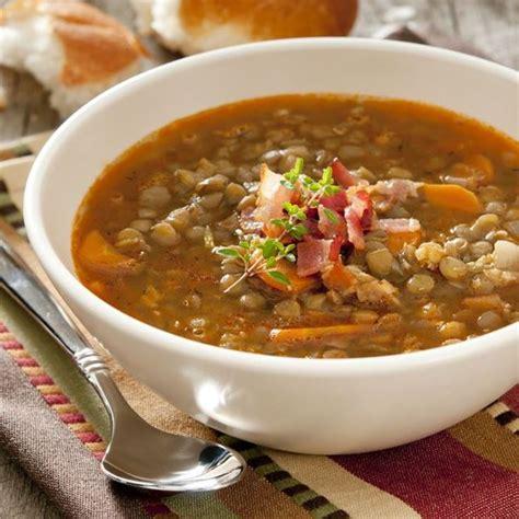 ensemble de cuisine pas cher recette soupe de lentilles et carottes facile rapide