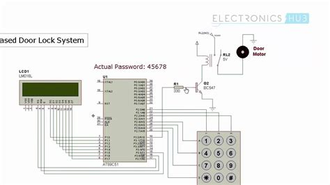 Password Based Door Lock System Using Microcontroller
