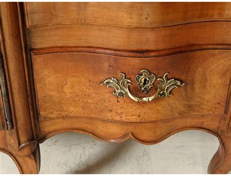 fleur de bureau superb scriban louis xv commode office bronze cherry