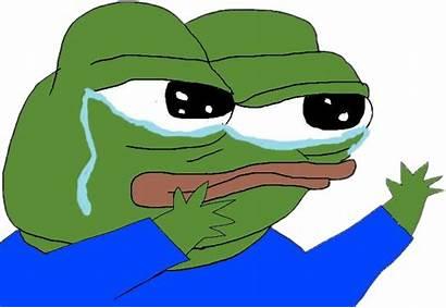 Pepe Sad Cry Sticker Picsart
