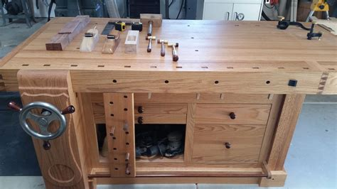 marks shaker workbench woodworking bench plans